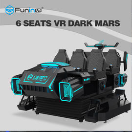 بازی Stable 9D VR Cinema Driving Car Game Machine 9D 6 بازیکن Amusement Park Rides