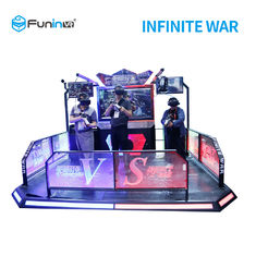 Two Players 9D Virtual Reality Simulator VR Infinite War for Student
