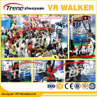 Shopping Mall Electronic Virtual Reality Walking Treadmill Virtual Screen 800 Watt AC 220 Volt