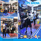 FPS Arena Gun Shooting Simulator Game Machine VR Space Walk With CE ROHS
