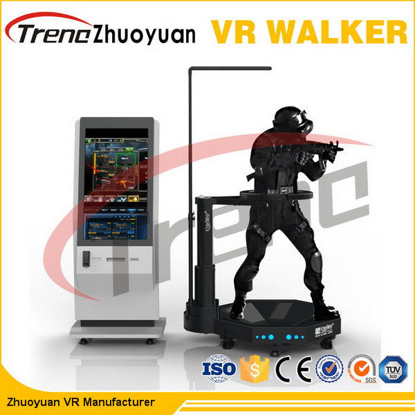 360 Degree Multi Directional Virtual Reality Treadmill For Tourist Attractions