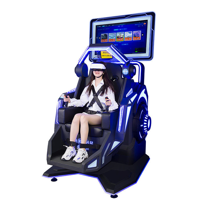 9d VR 360 Degree Rotation 120KG Metal Roller Coaster VR Flight Simulator For vr park rides