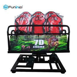 Dual Projection 7D Movie Theater، Dynamic 5d 9d 12d سینما با 8 9 12 صندلی