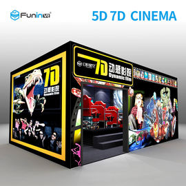 220V 8.0kw 7D Movie Theater Interactive Full Motion Seat 5D 12D فناوری هولوگرام